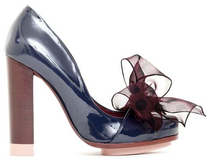 Nina Ricci Fall 2011 shoes