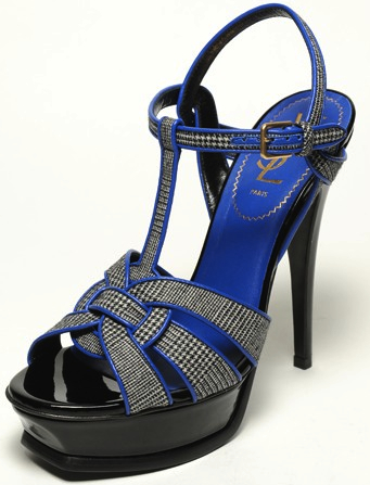 Yves Saint Laurent Fall 2011 shoe