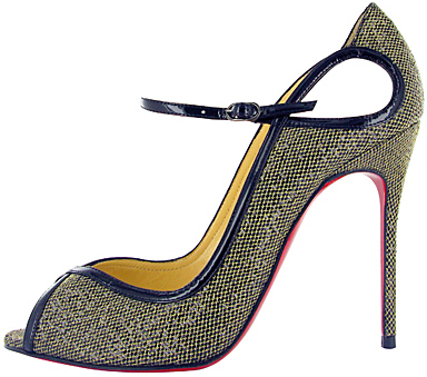1EN8 Christian Louboutin Tweed pump Fall 2011