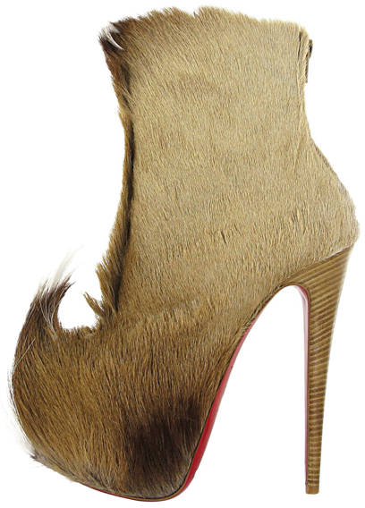 Christian Louboutin Fall 2011 Puck fur boot