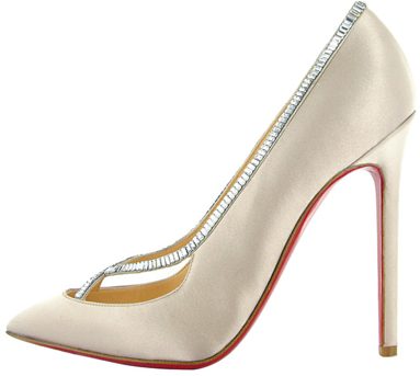 Christian Louboutin Fall 2011 satin pump