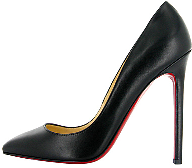 Christian Louboutin black leather Pigalle Fall 2011