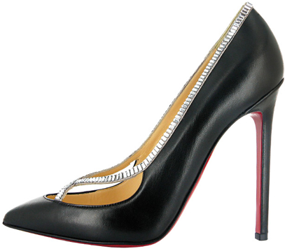 Christian Louboutin embellished Fall 2011 pump