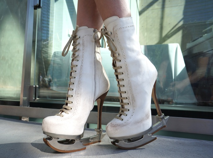 DSquared2 Ice Skating boot
