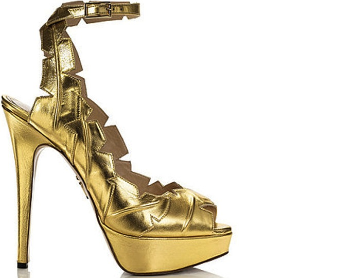 Charlotte-Olympia-Leaf-Me-Alone-gold-Spring-2012