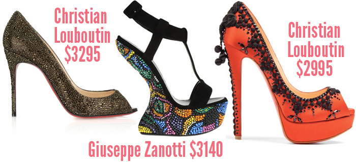 christian louboutin most expensive shoe