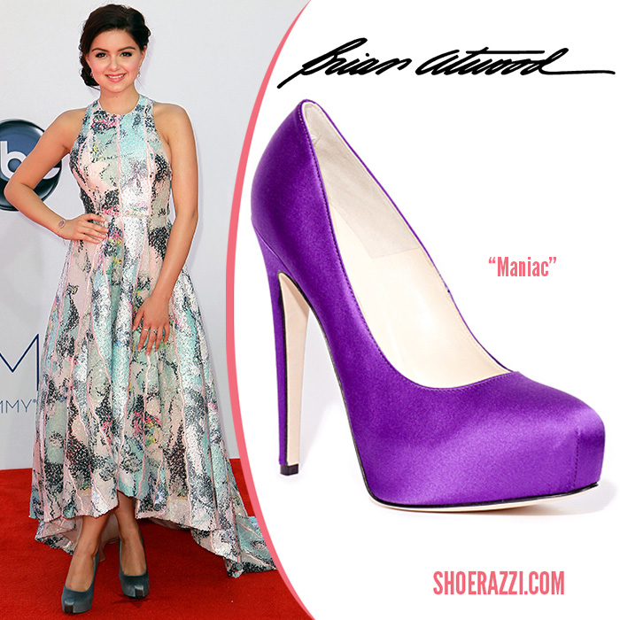 Ariel-Winter-Brian-Atwood-shoes-Emmy-Awards