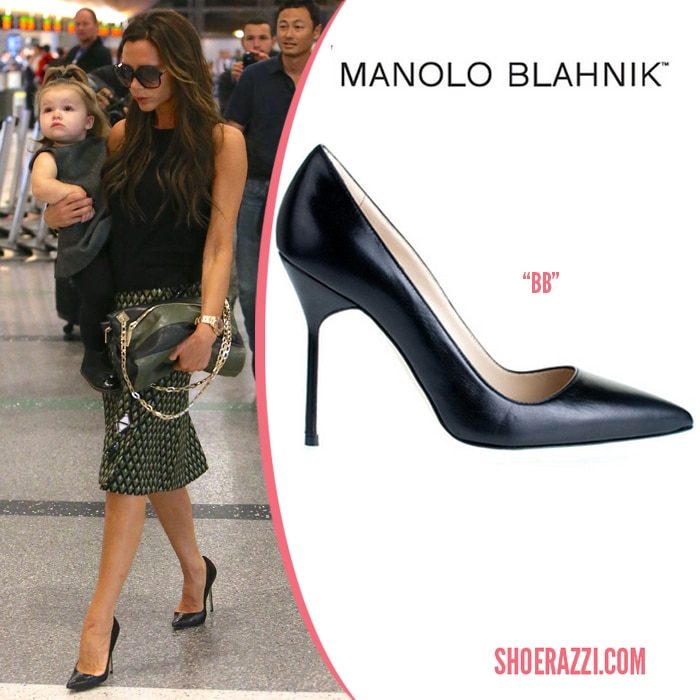 manolo blahnik patent leather heels