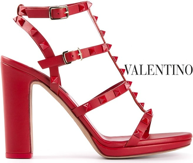 Popular RED Valentino Studded strap sandals Many Styles Outlet Store Cheap Price Free Shipping 2018 Newest Discount Wholesale Price D7oWK