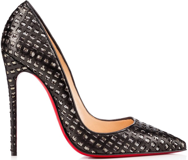 Christian-Louboutin-black-leather-So-Kate-woven-laser-cut-Fall-2015-collection