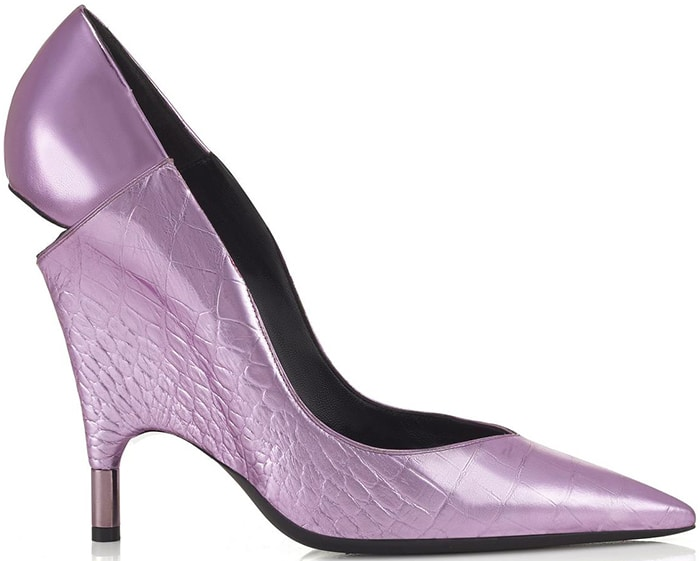 Tom-Ford-Spring-2016-Metallic-Croc-Cut-Out-Pump-ShoeRazzi