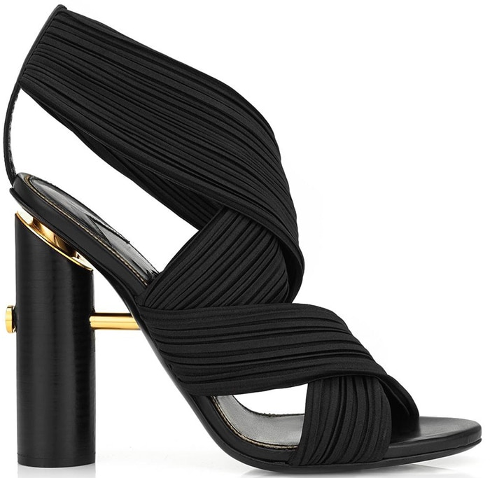 Tom-Ford-Spring-2016-Pleated-Wrap-Sandal-ShoeRazzi