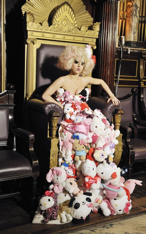 Lady Gaga Hello Kitty