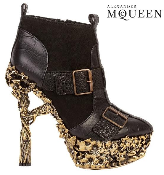 Alexander McQueen Gibbons Boot