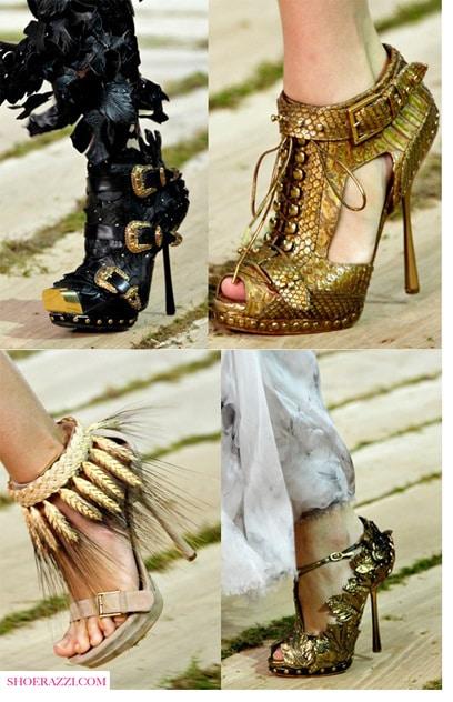 Alexander McQueen Spring 2011 Shoes