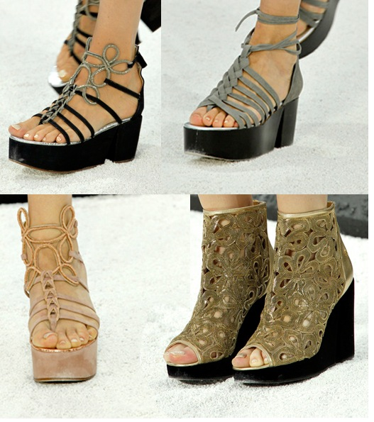 Chanel Spring 2011 Shoes