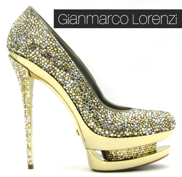 Gianmarco Lorenzi Disco Ball heels