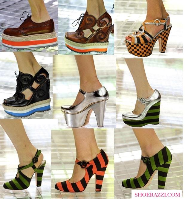 Prada Spring 2011 Shoes
