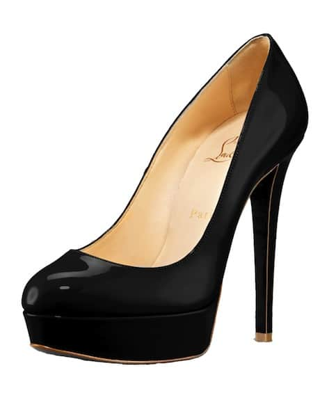 Bianca patent black Christian Louboutin Resort 2011