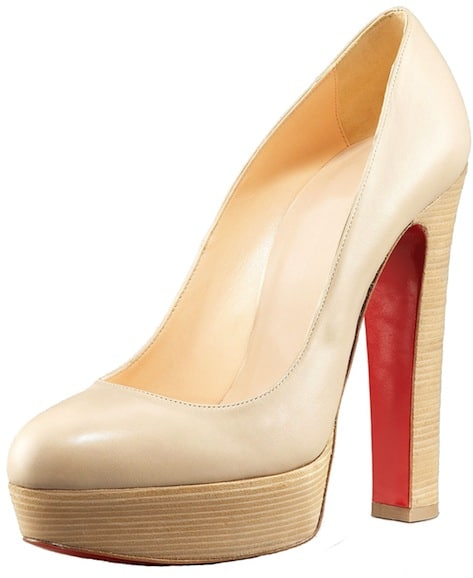 Bibi Resort Beige Christian Louboutin Resort 2011