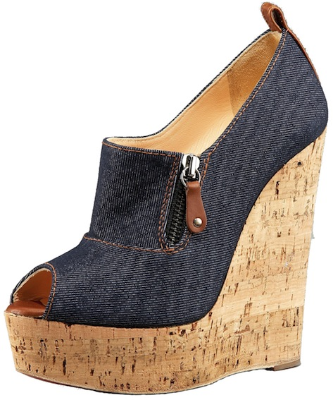 Deroba Denim Wedge Christian Louboutin Resort 2011