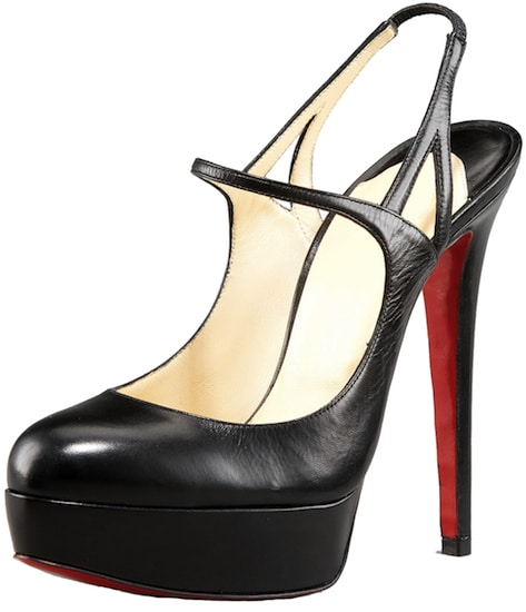 Fine Bretelle Mary Jane Slingback Platform Christian Louboutin Resort 2011