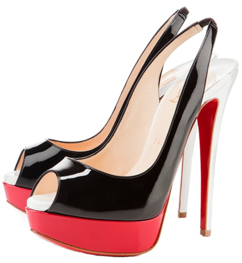Lady Peep Slingback Christian Louboutin Resort 2011