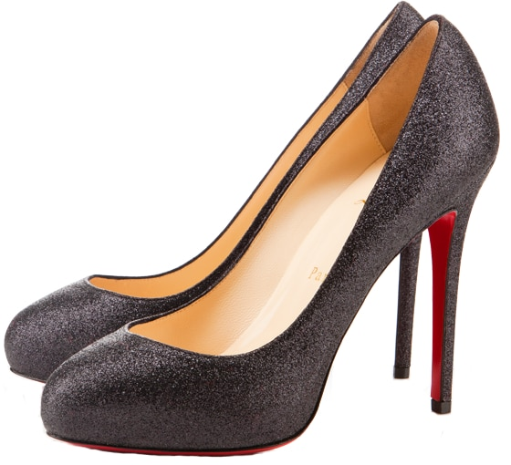 New Delic Glittered Pump Christian Louboutin Resort 2011