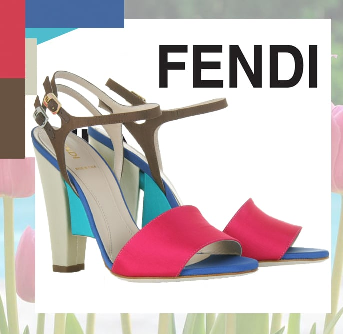 Fendi Colorblock Sandal Spring 2011