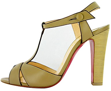 Leather t-strap Christian Louboutin Spring 2011