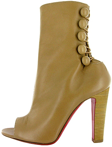 Louboutin button boot spring 2011