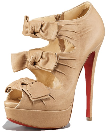 Madame Butterfly Bootie Christian Louboutin Spring 2011