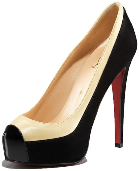 Mago two tone platform pump Christian Louboutin Spring 2011 Collection