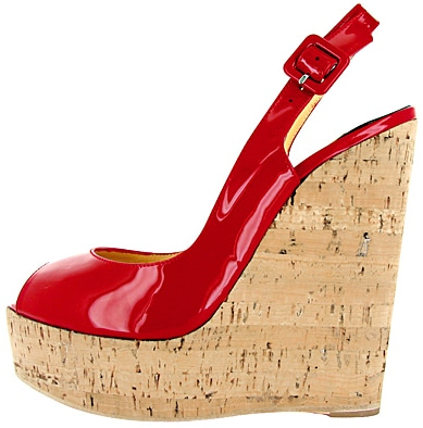 Patent Buckle Wedge Christian Louboutin Spring 2011