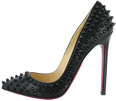 Christian Louboutin Fall 2011 Pigalle black spiked pump