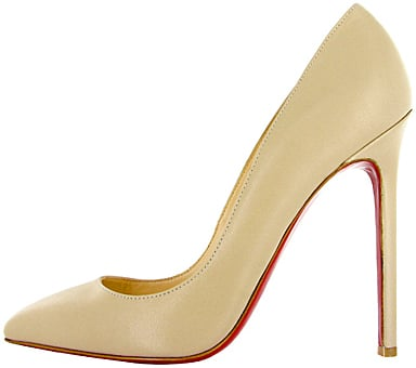 Christian Louboutin nude leather Pigalle Fall 2011