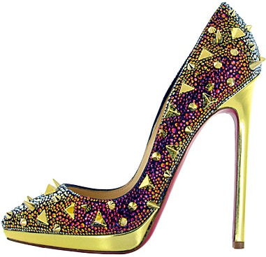 Christian Louboutin spiked Pigalle strass Fall 2011