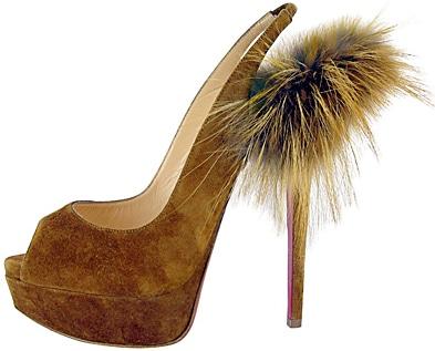 Lady Fur Brown Christian Louboutin Fal 2011