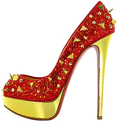 Very Mix red strass Christian Louboutin Fall 2011
