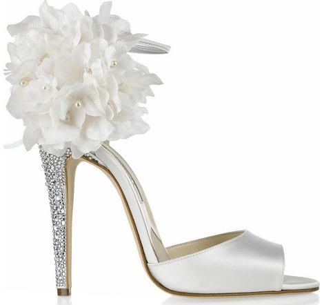 BRIAN ATWOOD Aurora embellished satin sandals