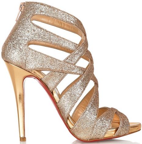 Christian Louboutin Balota sandal mini glitter