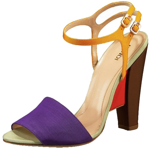 Fendi Colorblock Sandal