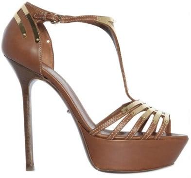Sergio Rossi Cachet Cage platform sandals