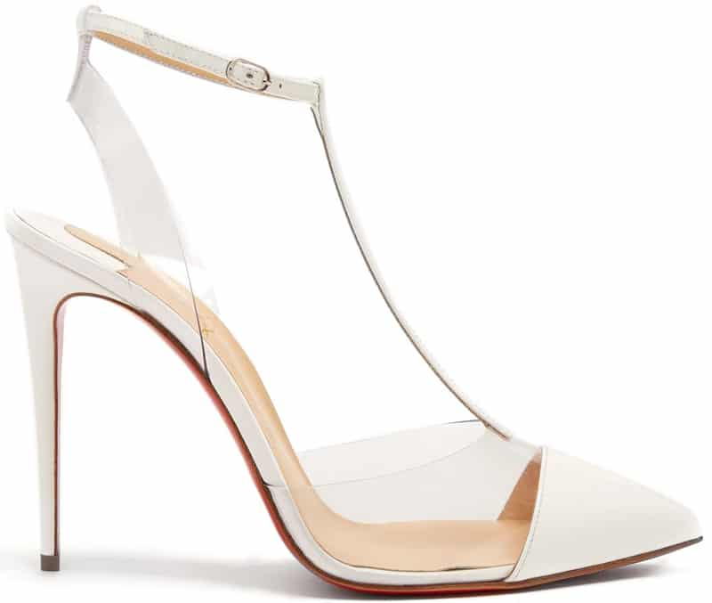 Christian Louboutin Nosy 100mm leather pumps