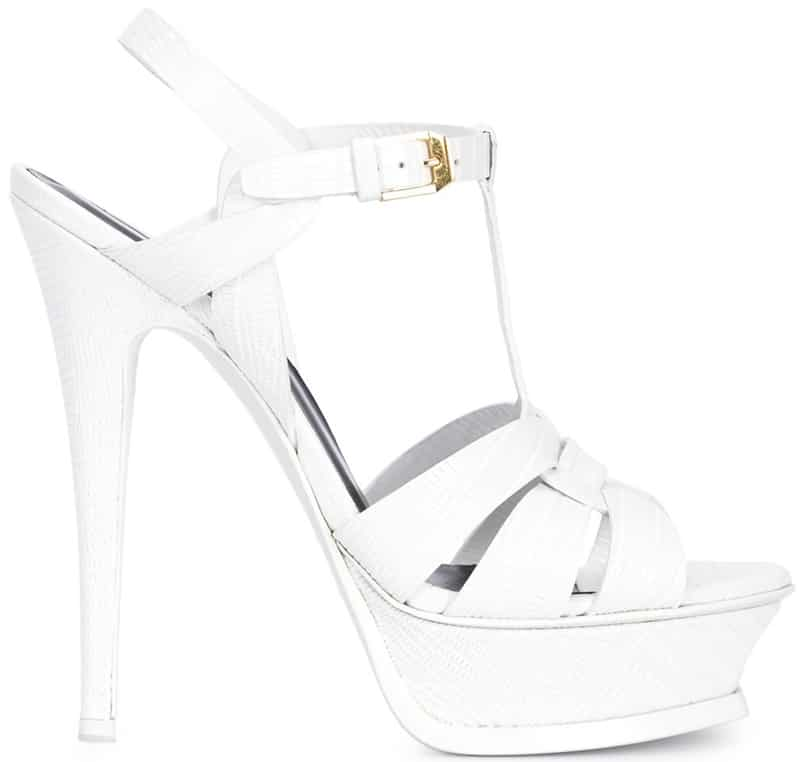 Saint Laurent Tribute platform sandals