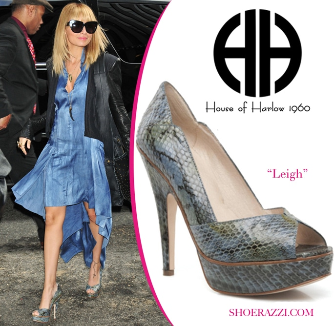 Nicole-Richie-House-Of-Harlow-Heels