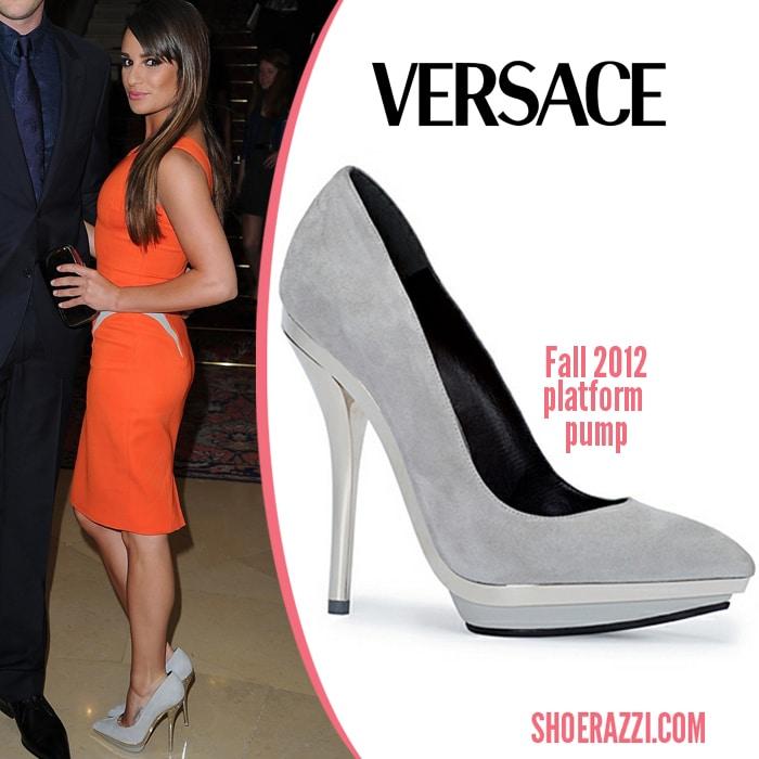 lea-michele-heel-versace-july-2012