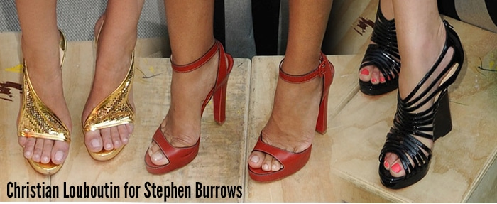 Christian-Louboutin-Stephen-Burrows-Spring-2013