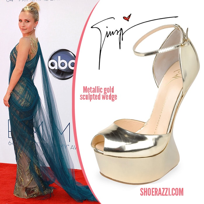 Hayden Panettiere-Giuseppe Zanotti-shoes-Emmy-Awards