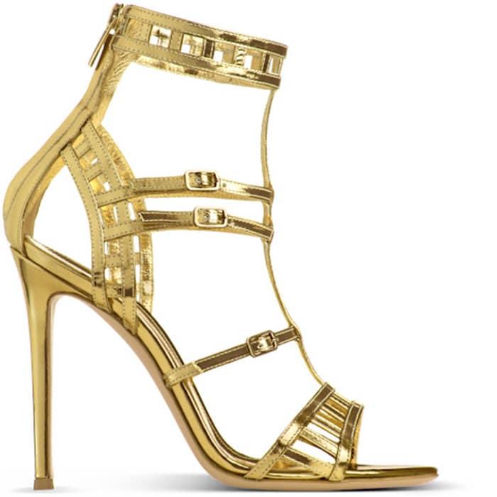 Gianvito-Rossi-gold-sandal-Spring-2013